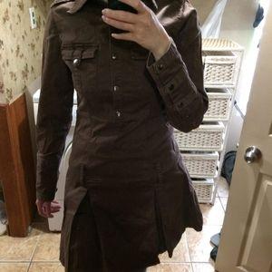 Brown Steampunk Dress cosplay